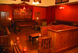 Courtroom in the Maritime Museum