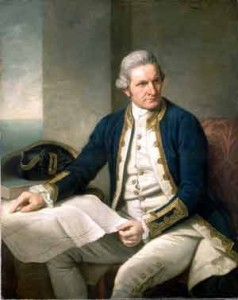Adventures at Sea, Captain Cook