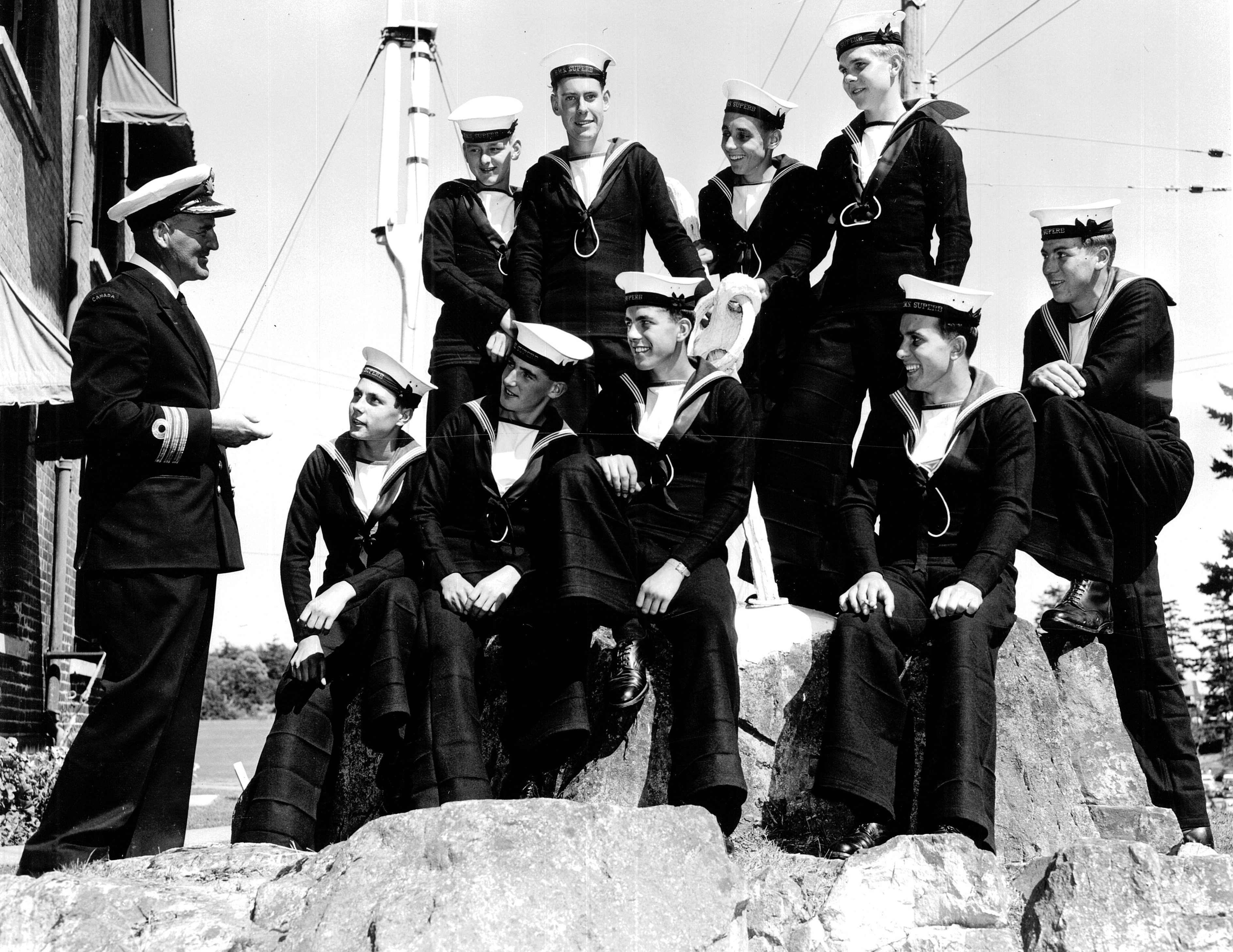 Maritime Museum of BC - Sailors