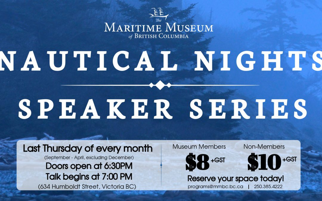 Nautical Nights Speaker Series: Julie and Colin Angus