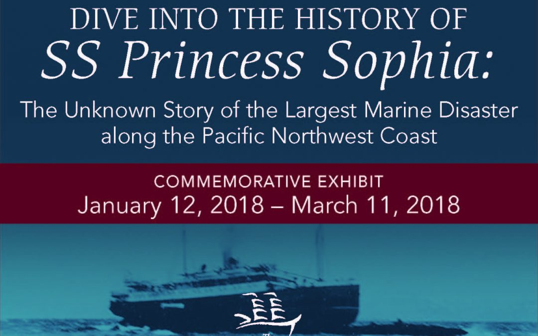 SS Princess Sophia: Commemorative Exhibit Launch Event