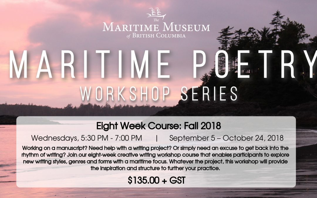 Maritime Poetry Workshop: Eight Week Course