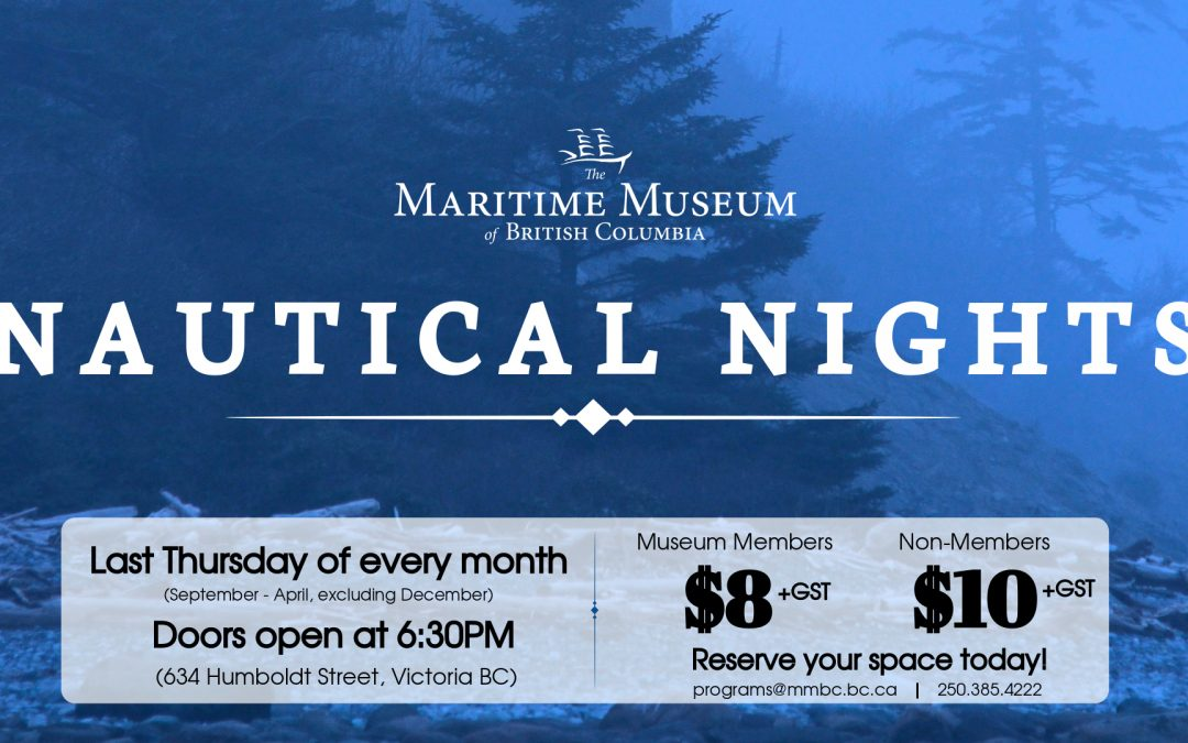 Nautical Nights Speaker Series: Mark Leiren-Young