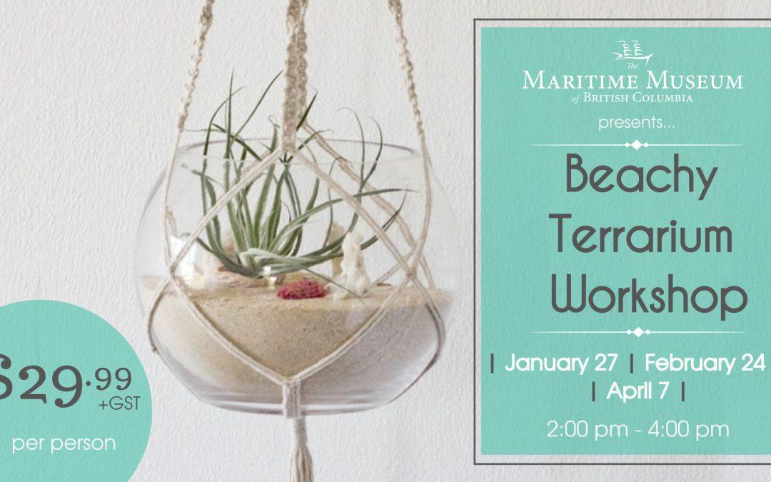 Beachy Terrarium Workshop
