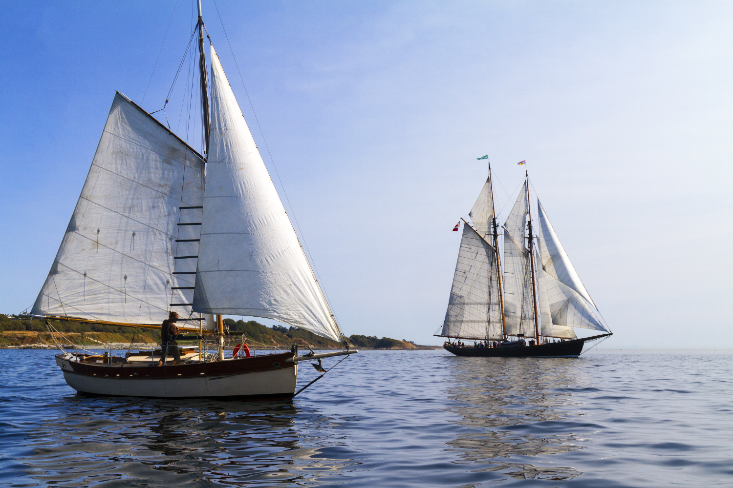 Sailpast at Classic Boat Festival 2017 - Courtesy of Tom Sztanek