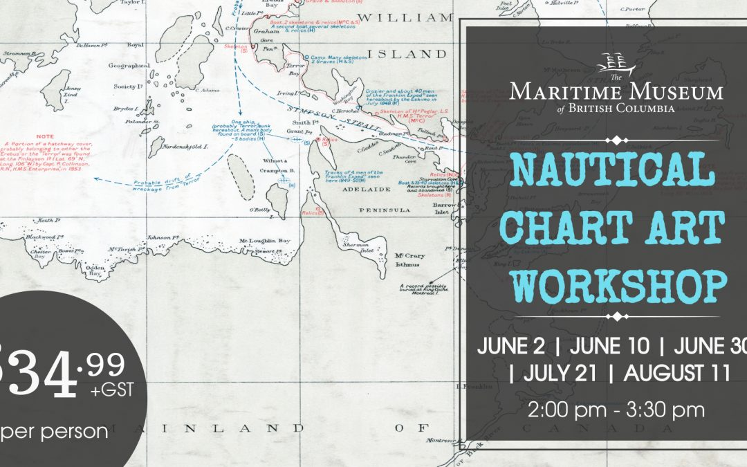 Nautical Chart Art Workshop