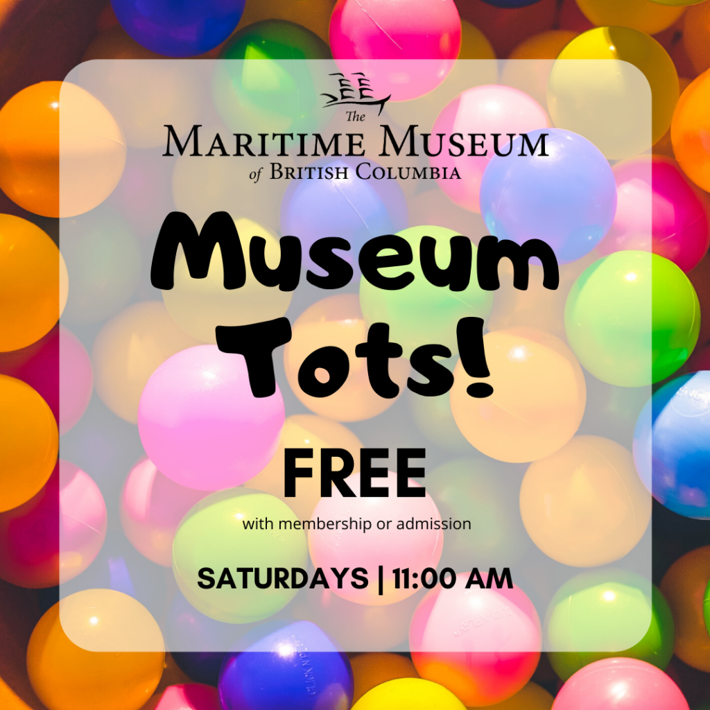 Museum tots poster, free with admission or membership, saturdays at 11:00 AM