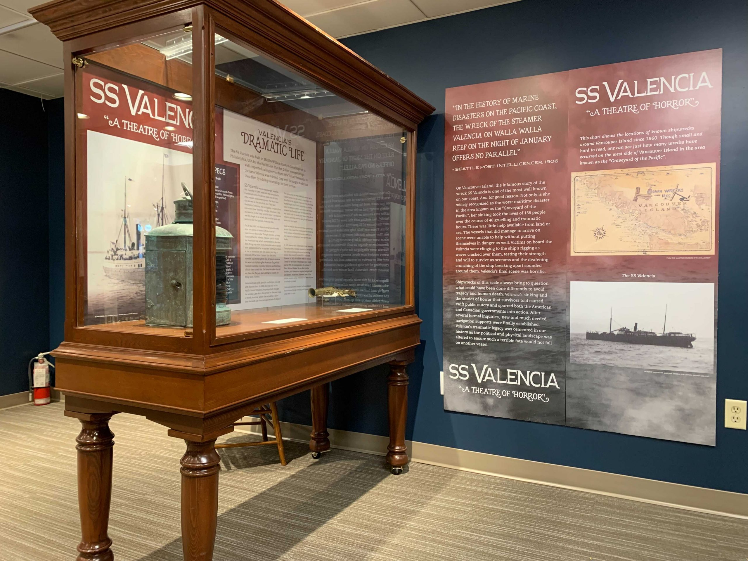 Gallery of Maritime Museum of BC
